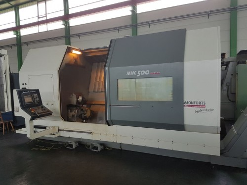 CNC Drehmaschine Monforts MNC 500 MultiTurn