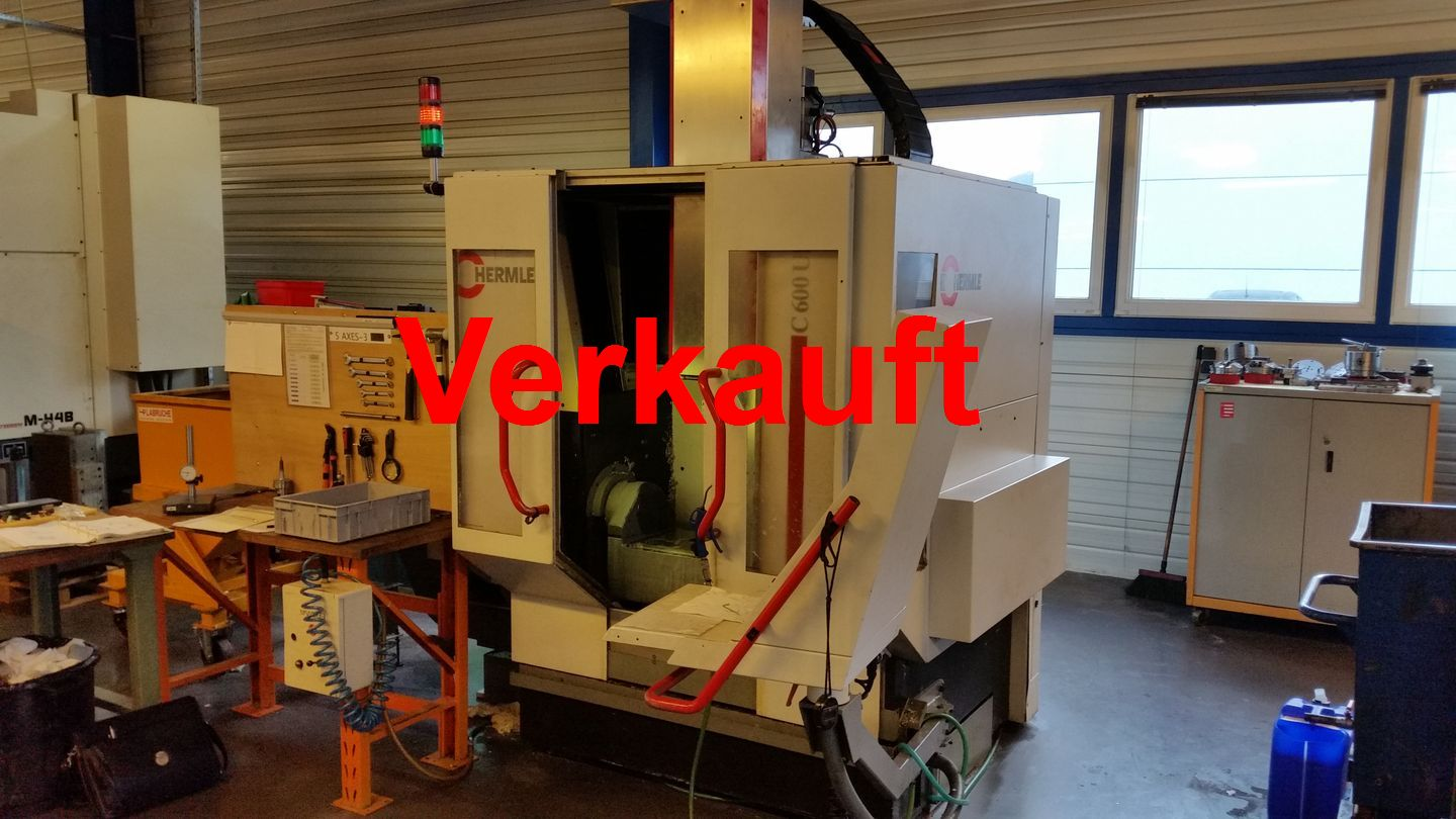5-Axis Milling Center Hermle C600U